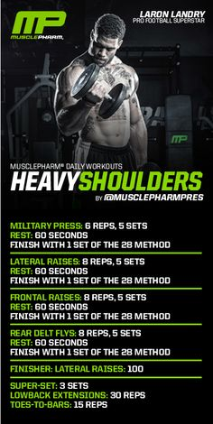 love Musclepharm workouts!!                                                                                                                                                                                 More