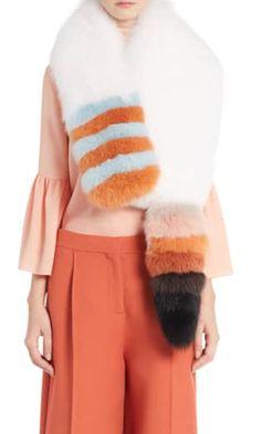 3f421436df1 Shop Nordstrom, White Elephant, Fur Stole, Fox Fur, Fendi, Sweatshirts,  Sweaters, Color, Shopping