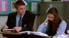 """Team Tristan for the win! --One of the biggest questions on the minds of """"Gilmore Girls"""" fans everywhere,as the Netflix revival draws nearer and nearer is… who will Rory (Alexis Bledel) end up with when all…"""