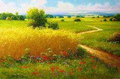 Июнь, резвясь, рисует акварели…Пейзажи художника Gerhard Nesvadba (Герхарда Несвадба). Обсуждение на LiveInternet - Российский Сервис Онлайн-Дневников