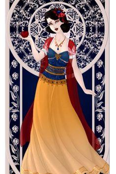 Princess Snow White (Version 2) ~ by ZoraRavenwood ~ created using the Azaleas Dolls doll maker | DollDivine.com
