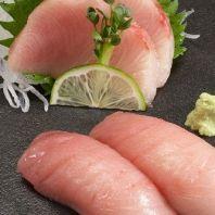 Sashimi Grade Yellowtail Fillets (Hamachi) ~1.6 lbs, 43.99 $ More