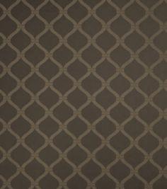 Home Decor Print Fabric-SMC Designs Summer Camp-Zinc Lattice