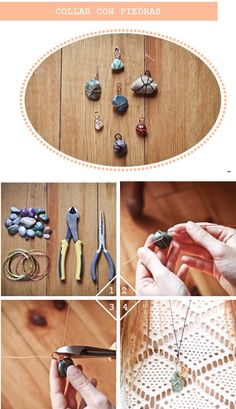 to make with special rocks found along the way > link isn't helpful but the picture has given me an idea or two...