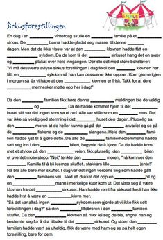 I am in the process of trying to collect some fun mad libs to use in Norwegian class. Here are a few from Sjømannskirken that are great! Activities For Kindergarten Children, Preschool Letters, Puzzles For Kids, Norway Language, Mad Libs, Never Stop Learning, School Subjects, Language Activities, Too Cool For School