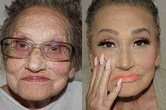 Esta abuela ha probado el contouring y el resultado es fascinante