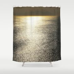 Golden Silence Shower Curtain by crismanart Shower Curtains, Lighting, Home Decor, Decoration Home, Room Decor, Lights, Home Interior Design, Lightning, Home Decoration