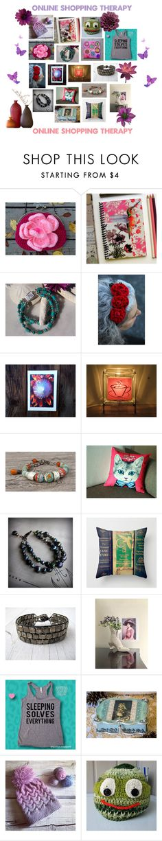 Online Shopping Therapy At ETSY By Fivefoot1designs Liked On Polyvore Featuring Interior