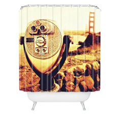 DENY Designs Shannon Clark Bridge View Shower Curtain, 69-Inch by 72-Inch DENY Designs,http://www.amazon.com/dp/B008RWDQNQ/ref=cm_sw_r_pi_dp_S26mtb1W31ZK8Q5Z