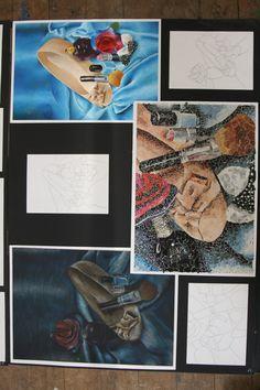 S4 EXPRESSIVE DEVELOPMENT Morrison's Academy Creative Portfolio, Art Portfolio, Drawing Projects, Art Projects, National 4, Gcse Art Sketchbook, Higher Art, Arts Award, Expressive Art