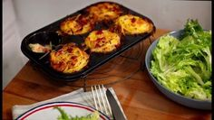 Cheese and potato nests ~ Rachel Khoo ~ Written Recipe is in both American and Metric measurements. Watch the video also :) ~ KJH~ can use Brie cheese ...