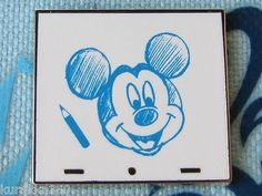 Mickey sketch pin