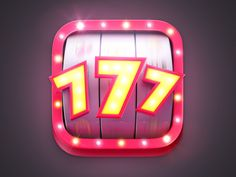 Slots Game Icon by Shoval Nachum