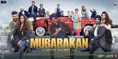 'Mubarakan' New Poster Shows Everyone From The Crazy Family