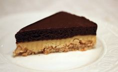 Snickerskake med karamell 1.Nøttebunn 2 eggehviter                                         30 g... Snickers Cake, Norwegian Food, Norwegian Recipes, Nom Nom, Cake Recipes, Food And Drink, Sweets, Cookies, Baking