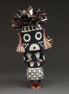 Mastop Kachina Doll by Clark Tenakhongva (Hopi)