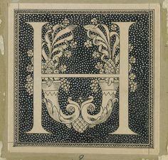 European Art Prints | Brooklyn Museum: European Art: Capital Letter H