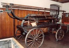 1885 Hand Fire Pumper
