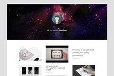 Personal Grid - Free Minimal WordPress Theme History Of Typography, Wordpress Theme, Grid, Minimal, Animation, Painting, Painting Art, Paintings, Animation Movies