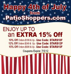 memorial day sale patio furniture