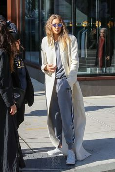 Gigi Hadid is seen out and about.