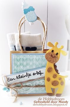 Paper Purse, Paper Bags, Baby Album, Marianne Design, Baby Art, Kids Cards, Paper Piecing, Gift Bags, Gift Baskets