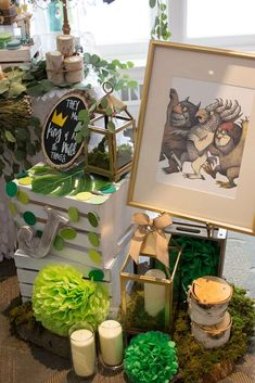John's Where the Wild Things Are 1st Birthday! | CatchMyParty.com