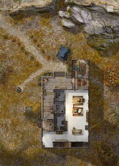 Habe's Sanatorium - First Floor by hero339 on @DeviantArt