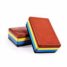 Tri-color Yoga Block