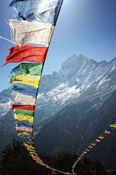 Prayer flags and the Mountains, need I say more?