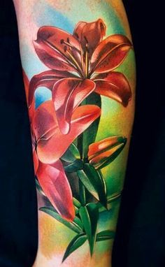lilies tattoo more tattoo ideas lilies tattoo lilies sleeve tattoo ...