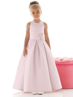 Flower Girl Dress FL4022 http://www.dessy.com/dresses/flowergirl/fl4022/?color=platinum&colorid=64#.UtWWqmTuL0s