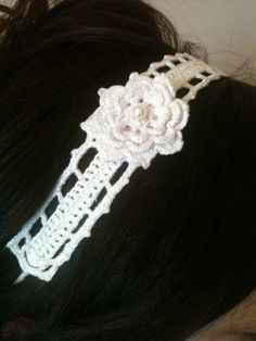 Crocheted hairband by Hook & Rose