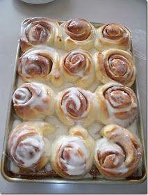 Recipes, Dinner Ideas, Healthy Recipes & Food Guide: Sinful Cinnamon Rolls