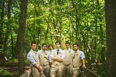 14 groom with groomsmen