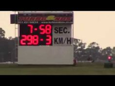 Hannes Minnaar 2jz 7.58s @ 298km/h at Tarlton International Raceway