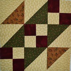 Chock-A-Block Quilt Blocks: Steps to the Altar