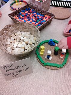 MINECRAFT Thinking and Learning in Room 122 minecraft in kindergarten