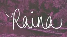 Uncommon names | Names given to between 5 and 15 baby girls in 2012: the state of Colorado | #Raina