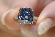 Blue Diamond. Screw a traditional engagement ring.... its only 9.5 million