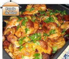 PANELATERAPIA - Blog de Culinária, Gastronomia e Receitas: Panela do Leitor: Frango Espanhol