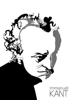 """Julian Gonzalez, """"Immanuel Kant"""""""