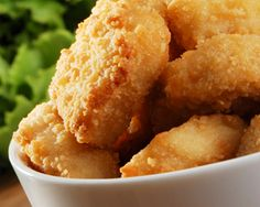 Gluten-Free Party Chicken Nuggets, these are baked not fried.