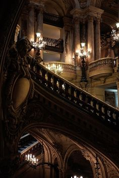 Gothic stairs