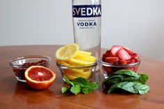 DIY This! Flavor-Infused Vodka