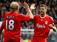 Kuyt und Gerrard