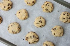 Delighted Momma: Paleo Chocolate Chip Cookies (no flour, dairy or refined sugar)