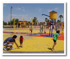The Spray Pad at Espee Park, free, 450 E. Knox, chandler, az