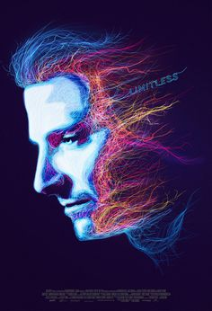 Limitless Movie Poster inspired by Brain Activity and blurred car lights…