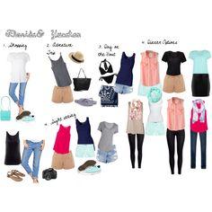 """Travel Outfits (Beach Destination)"""